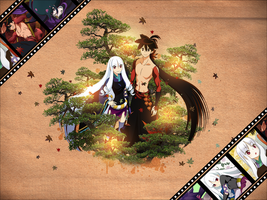 Wallpaper Katanagatari by DtK-Sama