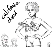 Attack on Fabulous Levi by LilachSigal