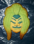 Kumadori cookie by Master-Kankuro