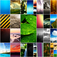 Zune HD Wallpaper Pack by salmanarif