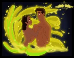 Disney: Tiana and Naveen by FreeWingsS