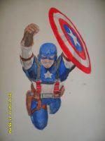 First Avenger by DRAGONFLY010