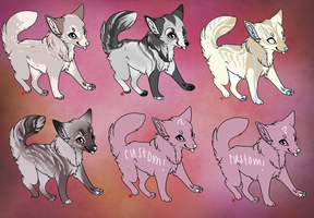 fox adopts! (LOWERED) by hirsche