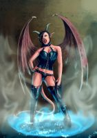 Succubus Summon by dragonero