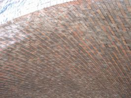 curved brick detail by stupidstock