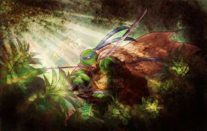Tmnt Ghost Of The Jungle by Dragona15