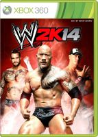 WWE 2K14 XBOX 360 fan made cover by ultimate-savage