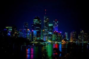 brisbane city.. by Beer-Bottle-Photo