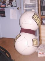 My finished Gaara gourd by KaoCottonTail