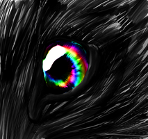 Wolfs Eye by XxWaterDiamondxX