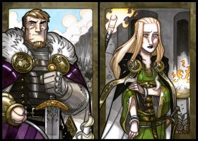 TYR and SIGYN by Aerion-the-Faithful