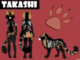 Takashi Reference Sheet by Snarkpuff