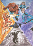 The Fantastic Four: Rise of the Silver Surfer by raptorbites