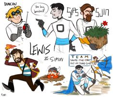 Some Yogsdoodles by Inonibird