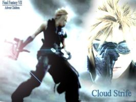 Cloud Strife by AbBYRaGEOUS