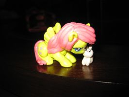 Fluttershy figurine by FairyAnts