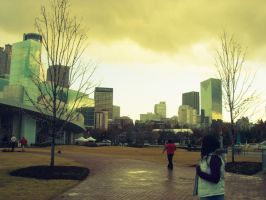 Oh downtown by lorewith-na-athend