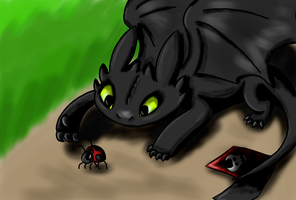 Toothless:) by ArhereArtPL