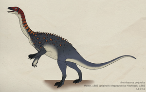 087--ANCHISAURUS POLYZELUS by Green-Mamba