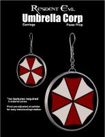 UCResEvil Earring Props by inception8-Resource