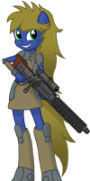 Fallout: Equestria Girls Cobalt Link by TheLastGherkin