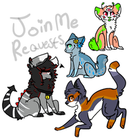 JoinMe requests by powiibo
