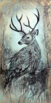 Deer Owl by sharlena