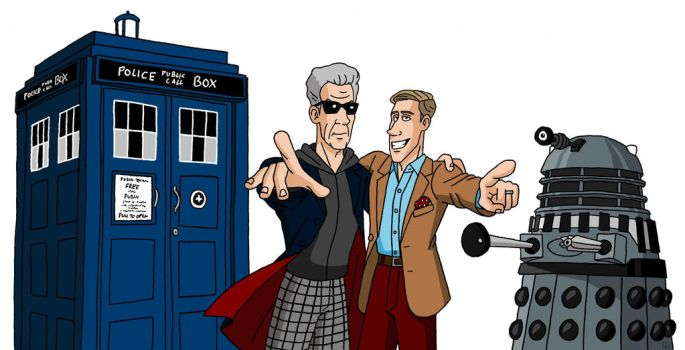 The Doctor and Me by VoteDave