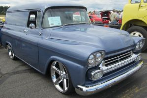 59 Chevy - GMC Panel Delivery by zypherion