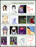 2014 art by xoes