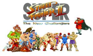 Street Fighter II The New Challengers by simpleguyfa