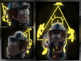 Bill Cipher Is Almost There by LenaFlynn