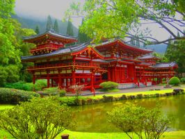 Buddhist Temple by A-Pocket-Kassey