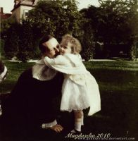 Tatiana and uncle Ernie by GuddiPoland