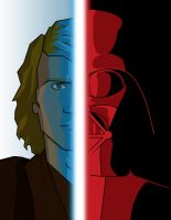 Anakin - Vader by flashmcgee