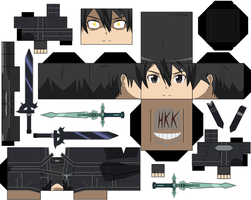 Kirito Black Swordsman by hollowkingking