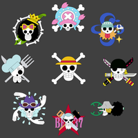Mugiwara no Ichimi 3D2Y Jolly Roger by lTHRl