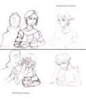 Dragon Age: Inquisition - Trespasser (sketch) by FallenCouslandHawke