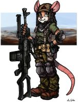 Mouse Support Gunner by TheLivingShadow