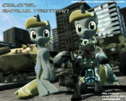 MLP OC: Colonel S.Trotman (release) by MarineACU