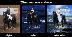 before - after - after-after: once a dream by Amliel