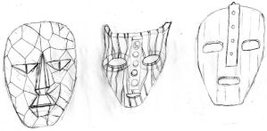 The Three Masks 'The Mask' by TimeLordParadox