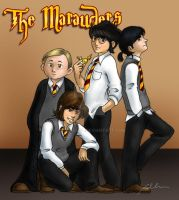 The Marauders by rugbygurl
