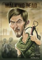 Daryl Dixon - Norman Reedus by alemarques21