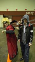 Megacon 2013 naruto and mercer by Oblivion-Evil