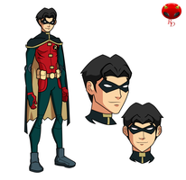 Young Justice:Jason Todd by RisingDiablo