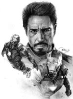 Tony Stark / Iron man by reniervivas666