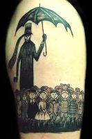 Ed Gorey by aestephic