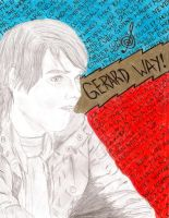 Gerard Way collage? thingy by somedayitllhappen