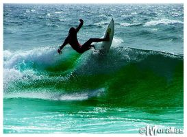 Surf Open II by Moralles